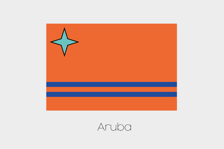 inverted: An Inverted Flag of  Aruba