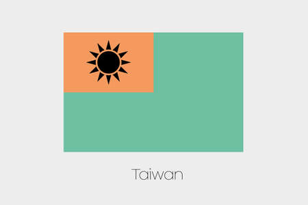 inverted: An Inverted Flag of  Taiwan