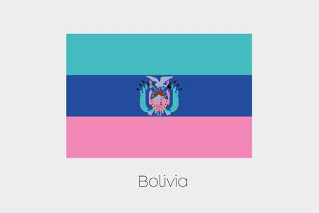 inverted: An Inverted Flag of  Bolivia
