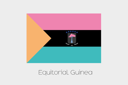 inverted: An Inverted Flag of  Equitorial Guinea