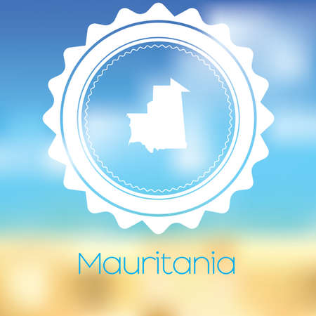 mauretanien: A Map of the country of Mauritania