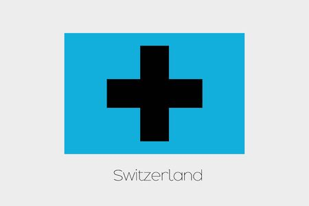 inverted: An Inverted Flag of  Switzerland