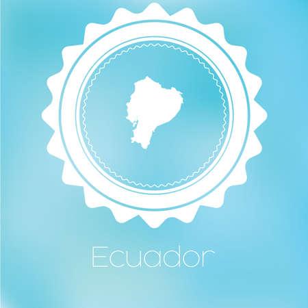 ecuador: A Map of the country of Ecuador