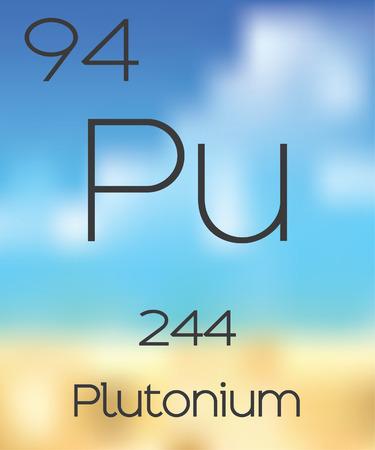 plutonium: The Periodic Table of the Elements Plutonium