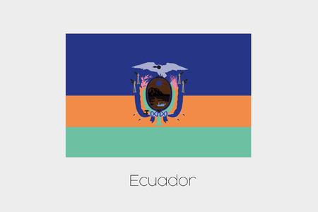 inverted: An Inverted Flag of  Ecuador