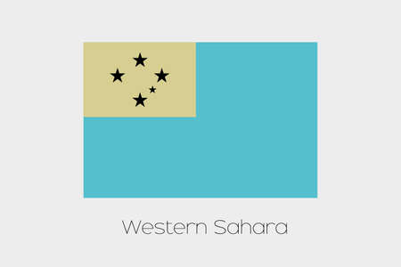 inverted: An Inverted Flag of  Western Samoa Stock Photo