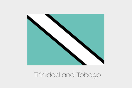 inverted: An Inverted Flag of  Trinidad and Tobago
