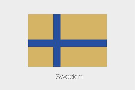 inverted: An Inverted Flag of  Sweden