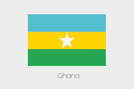 inverted: An Inverted Flag of  Ghana