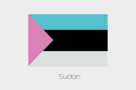 inverted: An Inverted Flag of  Sudan