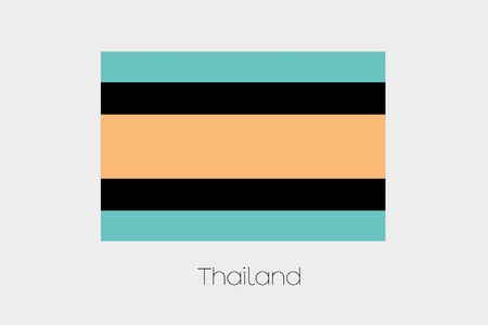 inverted: An Inverted Flag of  Thailand