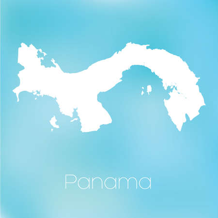 panama: A Map of the country of Panama