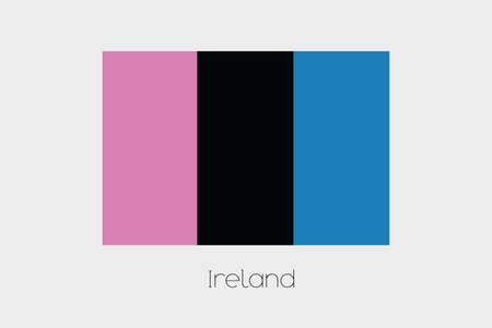 inverted: An Inverted Flag of  Ireland