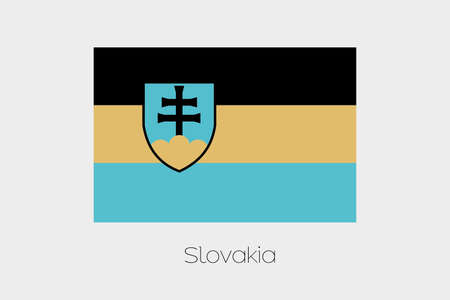 inverted: An Inverted Flag of  Slovakia