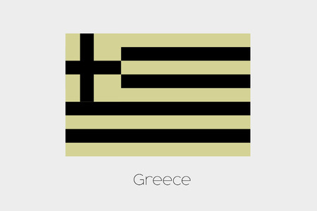 inverted: An Inverted Flag of  Greece