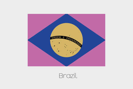 inverted: An Inverted Flag of  Brazil