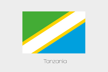 inverted: An Inverted Flag of  Tanzania