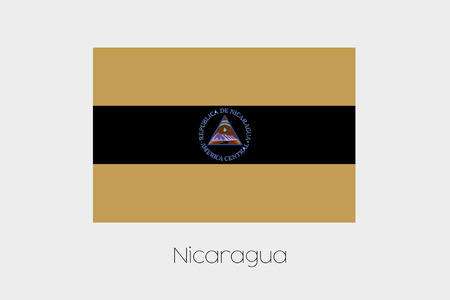 inverted: An Inverted Flag of  Nicaragua