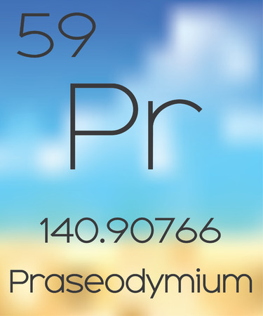 periodic table of the elements: The Periodic Table of the Elements Praseodymium
