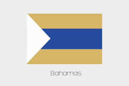 inverted: An Inverted Flag of  Bahamas