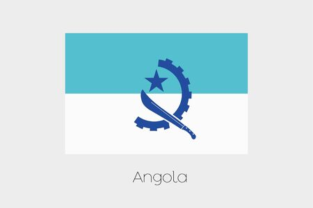 inverted: An Inverted Flag of  Angola
