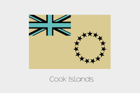 inverted: An Inverted Flag of  Cook Islands