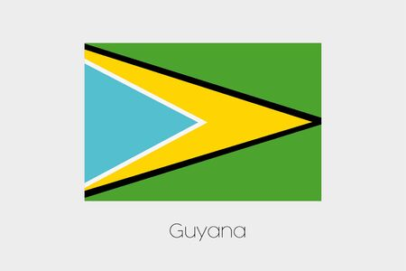 inverted: An Inverted Flag of  Guyana
