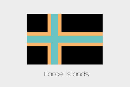 inverted: An Inverted Flag of  Faroe Islands