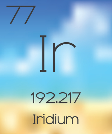 periodic table: The Periodic Table of the Elements Iridium