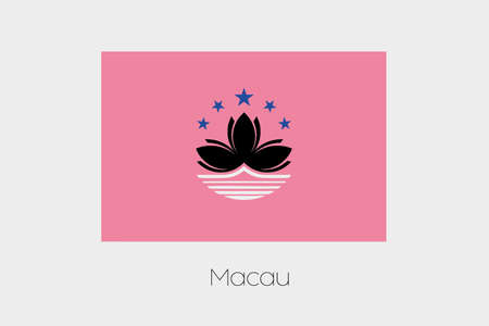 inverted: An Inverted Flag of  Macau