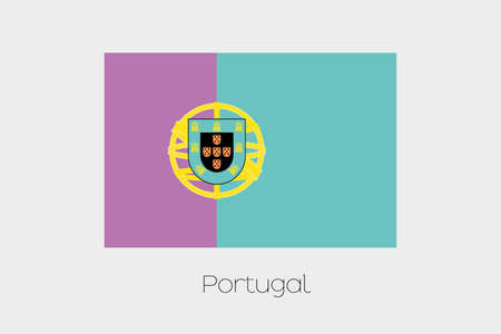 inverted: An Inverted Flag of  Portugal