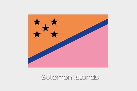 inverted: An Inverted Flag of  Solomon Islands