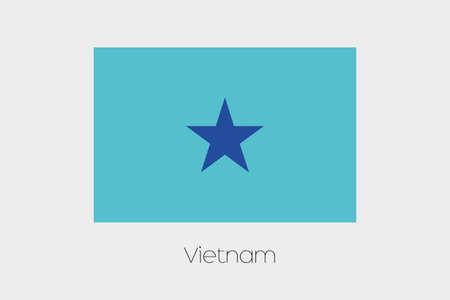 inverted: An Inverted Flag of  Vietnam
