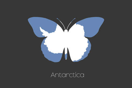 antartica: A 3D Isometric Flag Illustration of the country of  Brazil Antartica Stock Photo