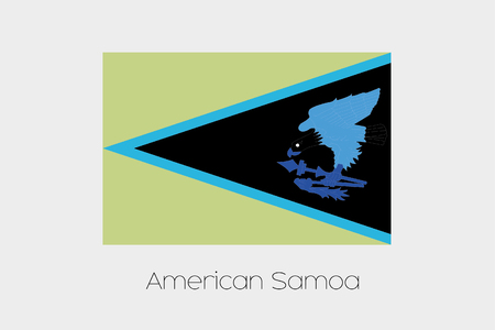 inverted: An Inverted Flag of  American Samoa