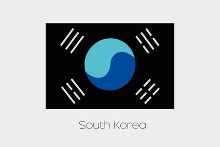 inverted: An Inverted Flag of  South Korea
