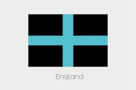 inverted: An Inverted Flag of  England