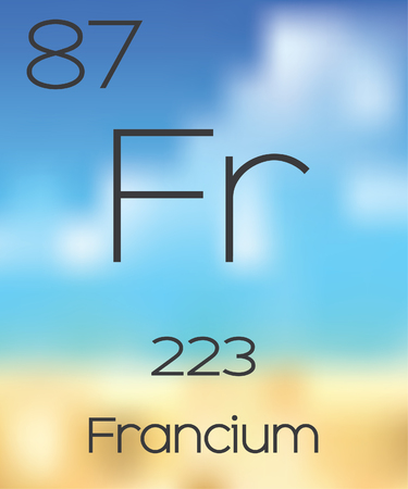 periodic table of the elements: The Periodic Table of the Elements Francium