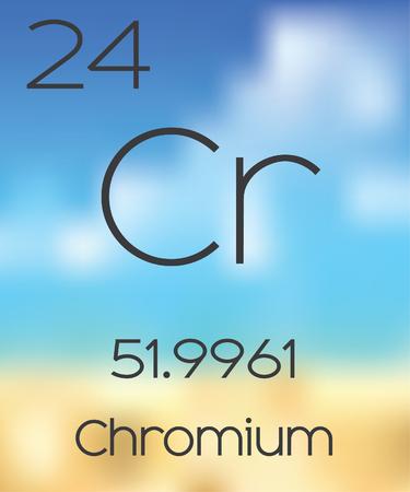 chromium: The Periodic Table of the Elements Chromium