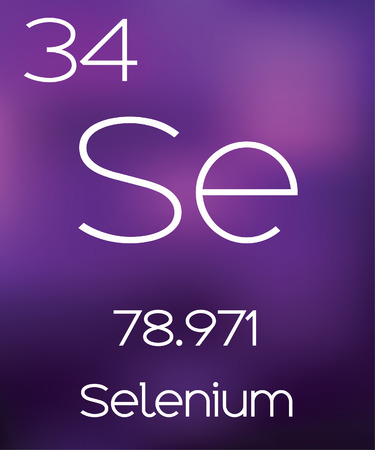 selenium: Purple Background with the Element Selenium