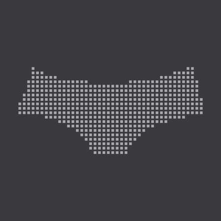 briefs: A Grey Icon Isolated on a Grey Background - Women Briefs
