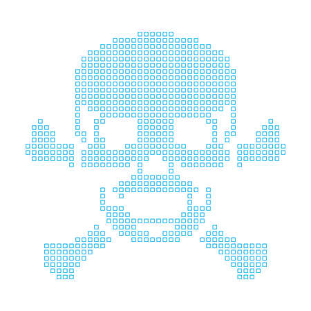 cross bones: A Map of the country of Skull and Cross Bones