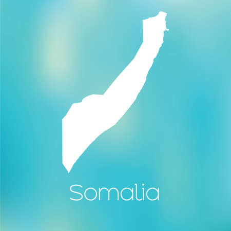 somalia: A Map of the country of Somalia