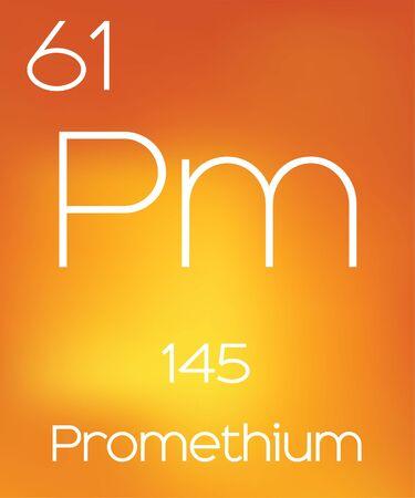 periodic element: An Informative Illustration of the Periodic Element - Promethium