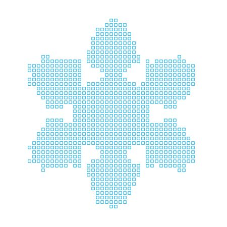 schneeflocke: Eine Karte des Landes von Snowflake Lizenzfreie Bilder
