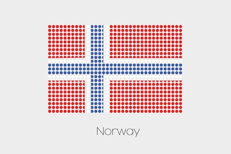 norway flag: A Flag Illustration of Norway Stock Photo