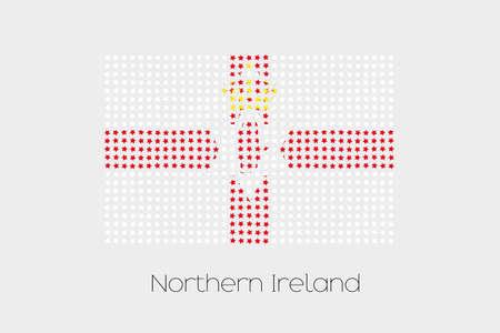 northern: A Flag Illustration of Northern Ireland