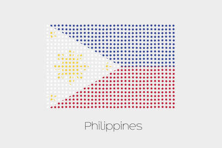 philippines: A Flag Illustration of Philippines Stock Photo