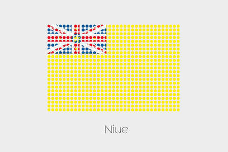 niue: A Flag Illustration of Niue