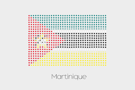 mozambique: A Flag Illustration of Mozambique Stock Photo